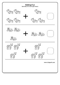 math worksheet : simple addition using dotsmath addition worksheets downloadable  : Simple Addition Worksheet