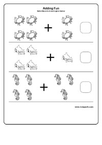 math worksheet : adding worksheets for kindergarten preschool activity sheets  : Water Worksheets For Kindergarten