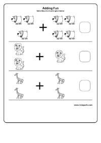 math worksheet : easy learning addition worksheets pre school activity sheets  : Easy Addition Worksheet