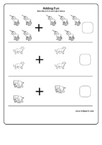 math worksheet : single digit adding worksheets downloadable math worksheets  : Downloadable Math Worksheets