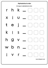 Easy Learning English Alphabets Ordering, Home Schooling ...