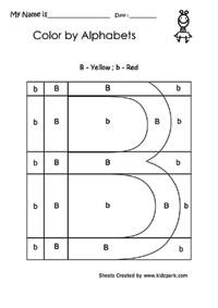 math worksheet : capital and small alphabets worksheets kindergarten english  : B Worksheets For Kindergarten