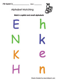 math worksheet : english alphabet matching worksheets kindergarten teachers  : Kindergarten Worksheets For English