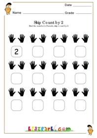 math worksheet : skip counting of hands worksheetteachers resources printables  : Skip Counting Worksheets For Kindergarten