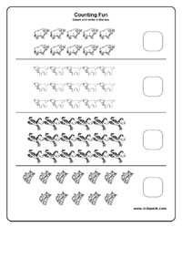math worksheet : counting fun worksheets activity sheets for kids colour matching  : Number Worksheets For Kindergarten 1 20