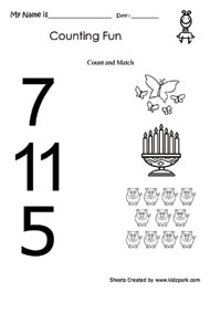math worksheet : fundamental counting worksheetsteachers printablesplay school  : Lkg Maths Worksheets