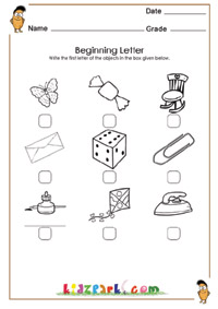 math worksheet : first letter writing worksheet activity worksheetskindergarten  : Beginning Letter Worksheets Kindergarten