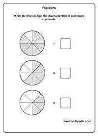 math worksheet : fractions worksheets activity sheets for kids math worksheets : Fraction Worksheet For Kindergarten