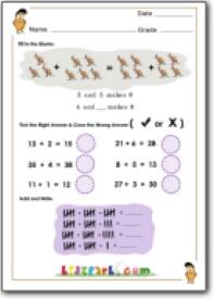 Math Kangaroo Practice Problems (Grades 1-8)