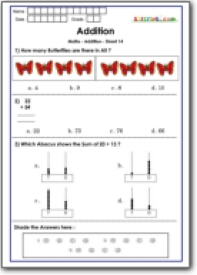 math worksheet : practice math addition for class 1  best for olympiad practice  : Olympiad Math Worksheets