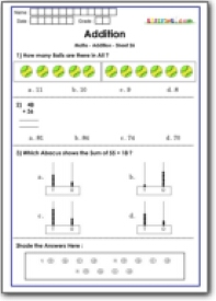 math worksheet : addition practice questions for math olympiad class 1 maths  : Math Olympics Worksheets