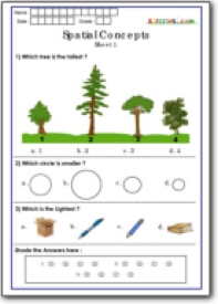 Worksheets Spatial Concepts Worksheets spatial concepts worksheets