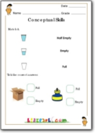 g1M_conceptualskills_19  St Grade Math Worksheet Addition And Subtraction on 5th grade, for grage 4, single digit, combo practice, large print, multiplication division,