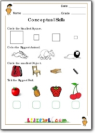 math worksheet : nearest or farthest worksheets for class 1 conceptual skill  : Worksheet Of Maths For Class 1