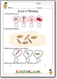 logical thinking worksheet