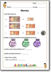 rupees and paise in words and numbers worksheet based on indian currency best to teach money. Black Bedroom Furniture Sets. Home Design Ideas