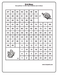 Worksheet Works Math Maze - math maze and puzzles worksheets ...