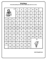 math worksheet : math maze worksheet  khayav : Downloadable Math Worksheets