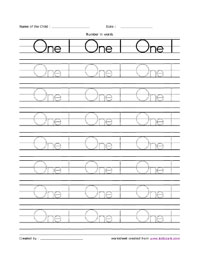 math worksheet : number words from one to ten activity sheetactivity sheets for  : Number Words Worksheets Kindergarten