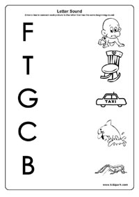 math worksheet : letter sound worksheets activity sheets for kids learning activities : Kindergarten Letter Sound Worksheets
