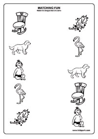 Printables Kindergarten Matching Worksheets like pictures worksheetsmatching worksheets for kindergarten pictures