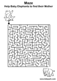 Worksheet Maze Printable Worksheets maze worksheets activity sheets for kids preschool paid members