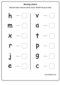 Printables Letter Recognition Worksheets For Kindergarten kindergarten letter recognition worksheets hypeelite missing alphabets recognition