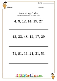 math worksheet : find the smallest number worksheet for grade 3downloadable  : Fun Addition Worksheets For 1st Grade