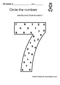 math worksheet : worksheet for kindergarten identifying numbersnumber sequence  : Number Sequence Worksheets For Kindergarten
