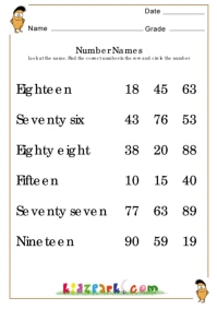 math worksheet : number names worksheetsteacher resource worksheetsmath worksheet  : Number Words Worksheets For Kindergarten