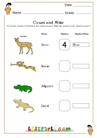 Grade 1 Number Names Worksheets Teaching Worksheets Pre School Activity Sheets