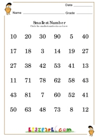 math worksheet : ordering numbers worksheet for grade 2math counting worksheets  : Maths Worksheet For Class 2