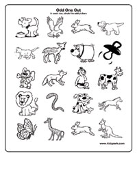 paid members - Activity Sheets For Toddlers