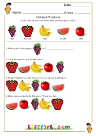 math worksheet : ordinal numbers worksheetplay school activity sheetdownloadable  : Ordinal Numbers Worksheet Kindergarten
