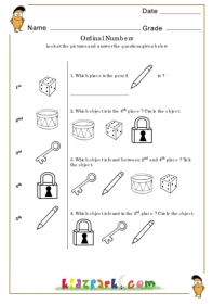 math worksheet : kindergarten coloring ordinal numbers worksheetspre school  : Ordinal Numbers Worksheet Kindergarten