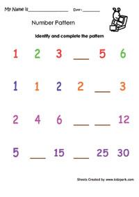 math worksheets printables pattern worksheets for third grade teachers resources. Black Bedroom Furniture Sets. Home Design Ideas