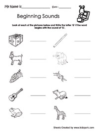 math worksheet : phonics worksheets activity sheets for kids phonics printable : Phonics Worksheets Kindergarten