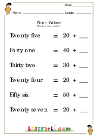 Place Value Practice Worksheet 4th Grade by Clowning Around in ...