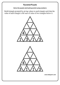 math worksheet : pyramid puzzle worksheets activity sheets for kids puzzle worksheets : Egyptian Math Worksheets