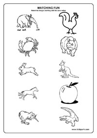 math worksheet : kindergarten worksheet for same letter matchingteacher printable  : Kindergarten Matching Worksheets
