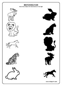 Animals Worksheets,Teachers Activities for Children,Printable Activity ...