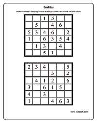 graphic regarding Sudoku 6x6 Printable named 6x6 sudoku - Very simple Worksheets,Printable Routines for Small children
