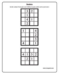 picture about 6x6 Sudoku Printable named 6x6 sudoku - Very simple Worksheets,Downloadable Video game Sheets